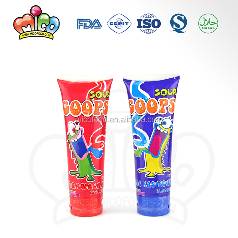 sour squeeze toothpaste liquid candy