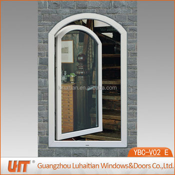 China luhaitian vinyl arch window company in guangzhou for Vinyl windows company