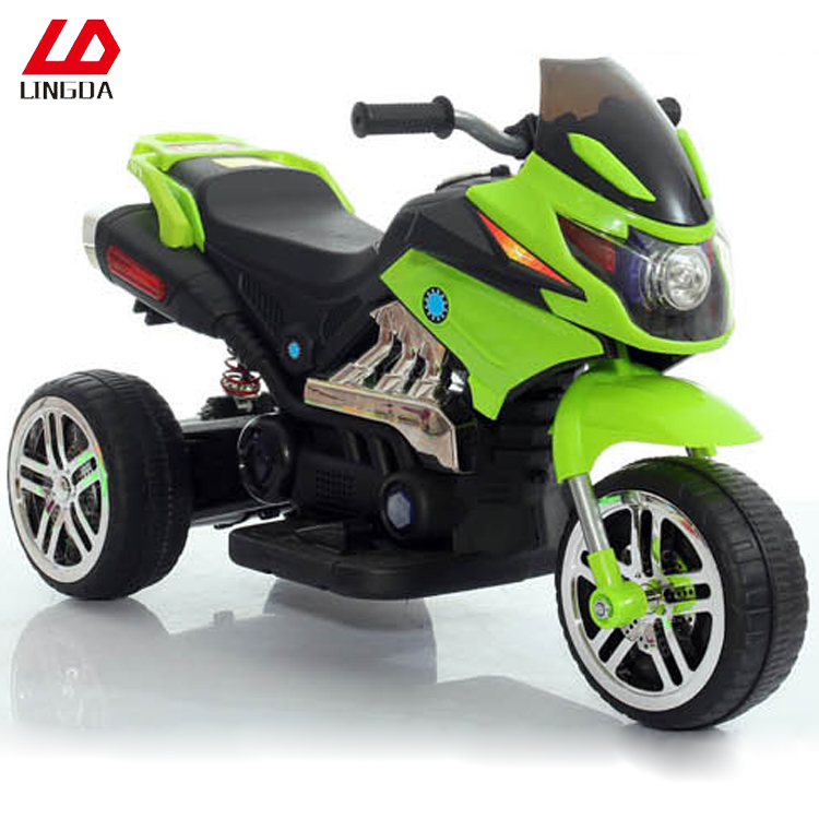 Top Sell Kids Three Wheels Electric Ride On Car Motorcycle Electric