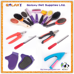 Dog pet grooming product ; dog grooming glove pet dog brush comb pet nail clipper