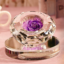 Car or home decoration diamond shape crystal car perfume bottle, crystal car liquid air freshener