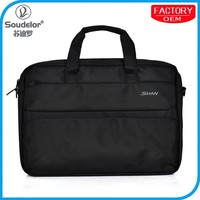 Hot selling laptop trolley bag new bag factory laptop leather bags