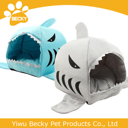 wholesale big shark bed puppy dog house S and L