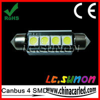Festoon auto led bulb 36mm Canbus