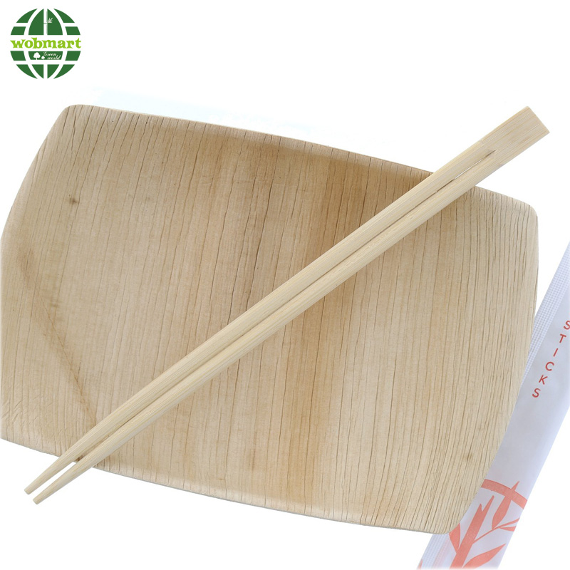 24CM Paper Wrapped Disposable Bamboo Sushi Chopsticks