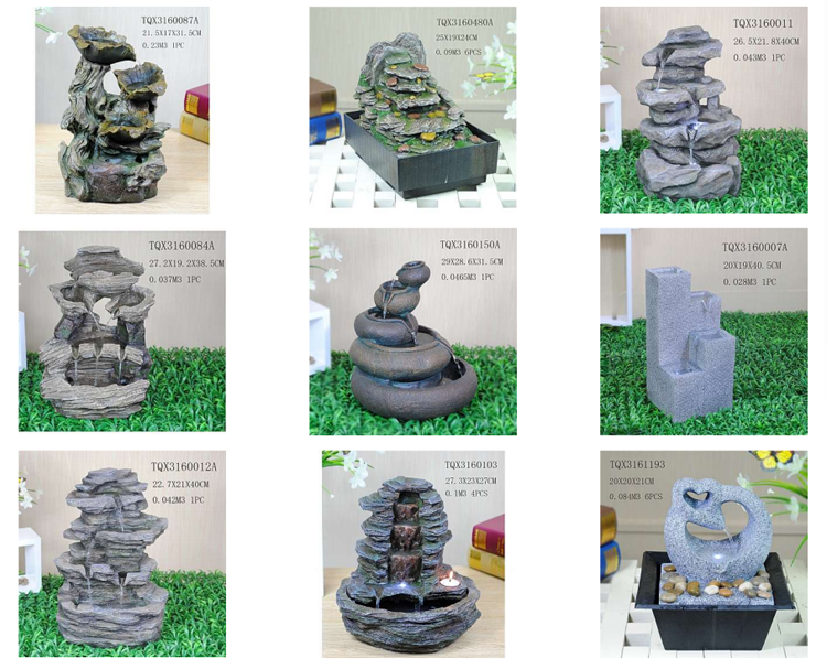 Europe hot sale polyresin artificial stone fountain