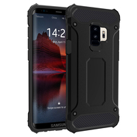 Guangzhou Manufacture Supplier High Quality Hybrd PC TPU Cell Phone Case For Samsung Galaxy S9 Back Cover Case