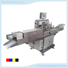Automatic screen printing machine for pen