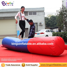 Sport type air track inflatable gymnastics balance beam with CE certificate