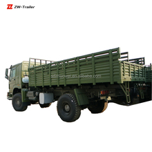 6x6 4x4 Truck With Bench For Army Transport AWD Military Cargo Truck