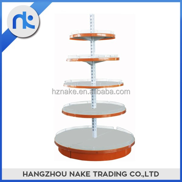 Wholesale High Quality CRS Supermarket Equipment Candy Shelves