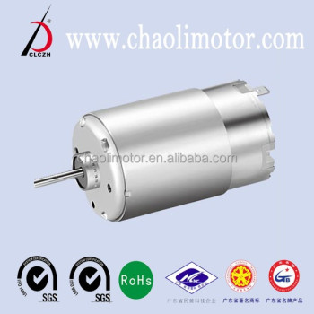 low speed high torque dc motor CL-RS555 for automotive products from ALI gold supplier