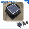new 12 inch With thermostat switch Square solar fan and solar fan for the home