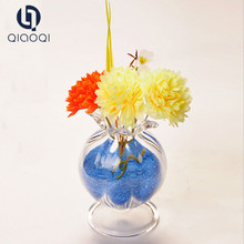 Bottom Price Quality tall mosaic glass vase for flower