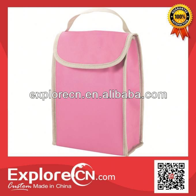 Cheapest Non-woven non-woven ice bag with velcro flap closure