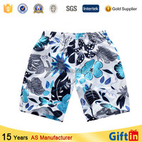2015 Top Quality Summer Custom Design Mens Beach boxer shorts for men