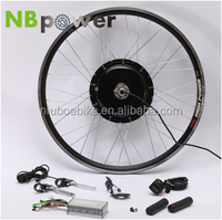 500w 750w 1000w 1500w ebike conversion kit whole sale from China with battery