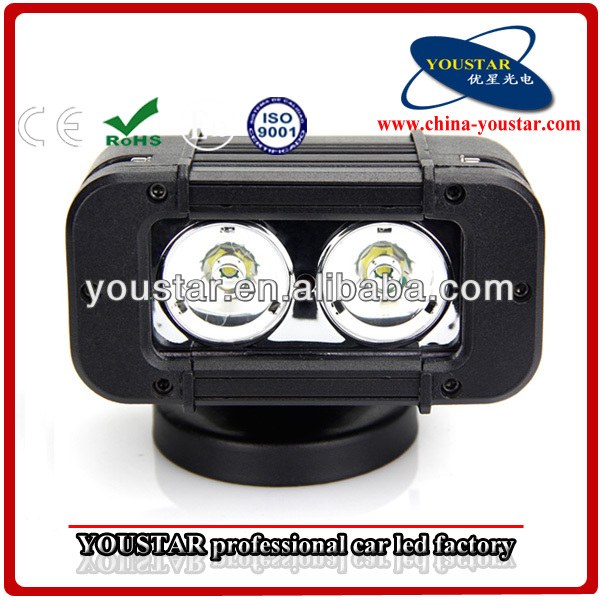 20W CREE LED Work Light single row Waterproof Flood Light, spot beam flood beam
