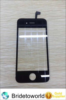 Cell Phone Touch Front Glass Panel For Iphone 4 4s, Digitizer Screen For Iphone 4g