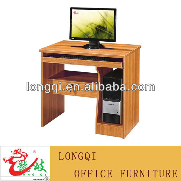 hot sale high quality melamine wooden new design classic cheap office computer desk furniture modern computer table