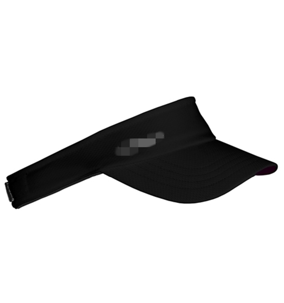 custom sports adjustable sun visor print dry fit sports visor