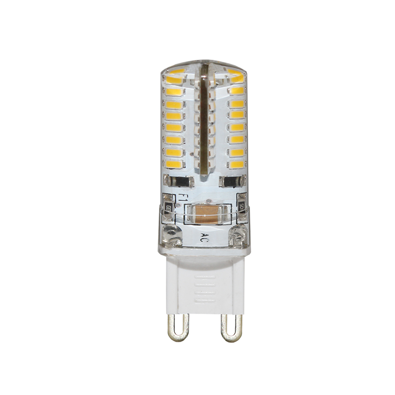 Super bright crystal CE&RoHS 2W 3W 64 SMD 3014 G9 <strong>LED</strong>