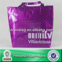 pp non woven high fashion brand handbag