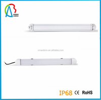 waterproof led light for fishing boat 30w ip68 led tri-proof tube