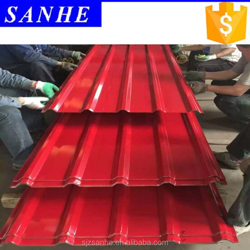 corrugated steel sheet for prefab house roofing of steel with hot sale