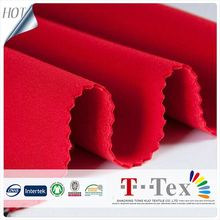 High Quality Polyester Knit Suede Scuba Fabric