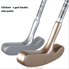 New design high quality stainless steel Children double side Golf putters