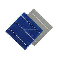 China solar cell 156mm 17.2% efficiency with best solar cell price for sale