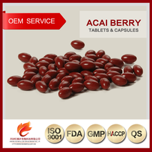 Natural Herb Acai Berry Extra Slim Supplement Soft Capsules