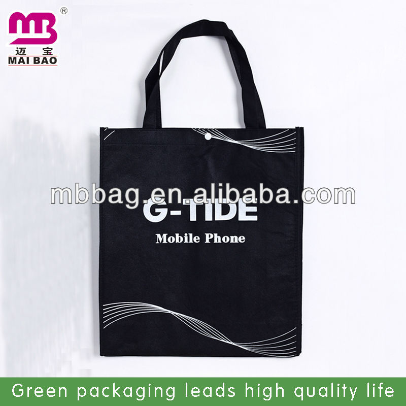 Various design personalized logo printed non woven football gift bag for shopping custom made in factory