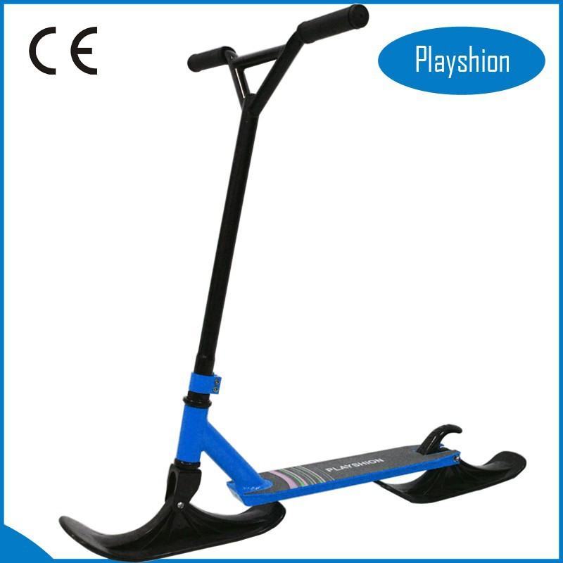 2015 New style professional scooter bike best extreme adult snow kick ski scooter