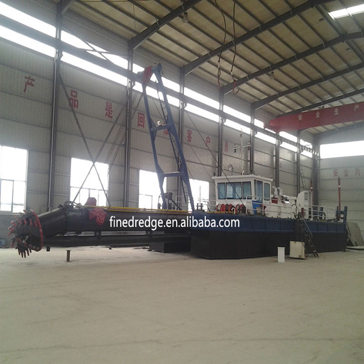 5000m3 River Sand Dredger Vessel Machine with Cutter Head for River Dredging