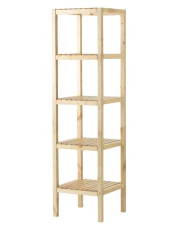 living room corner shelf four tiers bathroom storageand display rack for towel and clothing storage shelf