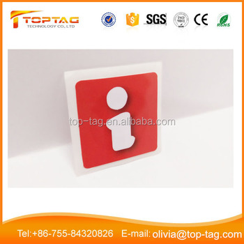 ISO14443A Type 2 Epoxy NFC Tag , Thin NFC Card , Cheap Blank NTAG213 Sticker