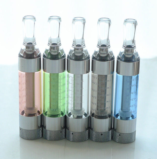 T3S rebuildable Atomizer Clearomizer eVod BCC 2.4ml bottom tank Cartomizer Fit Ego Ego-t Ego-c Evod