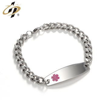 Factory customized cheap stainless steel metal jewelry bracelets for women