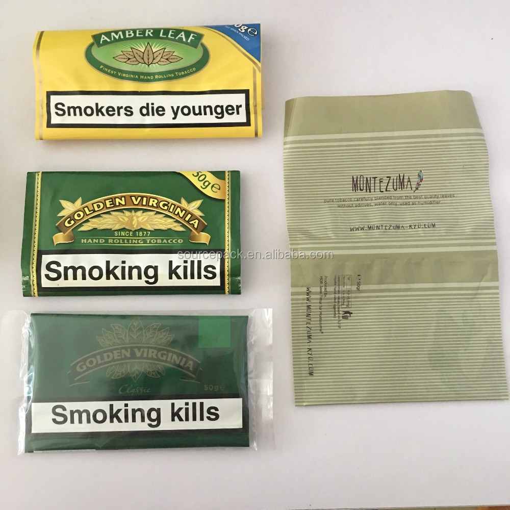 50g Popular Brands Hand Rolling Tobacco Pouch with Cheap Price