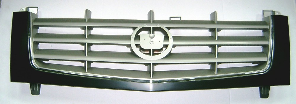CAR AUTO CHROME FRONT BUMPER GRILLE FOR CADILLAC ESCALADE 2002 2006 PLASTIC GRILL