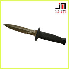 Stainless Steel Rubber Grip Handle Fisher Knife