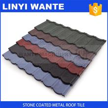 new design China High Quality stone coated steel metal roofing shingle tile with low price for your house