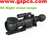 ATN MAK410 5X rifle for night vision hunting night vision riflescope