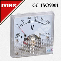 45*45mm ac amp analogue panel meters