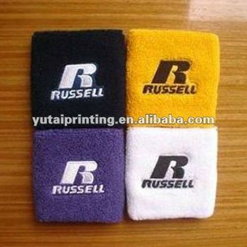Direct manufacture customized wholesale sport cotton wrist support