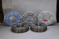 Durable Rubber Spring diamond wire saw for Marble