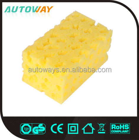 Excellent Quality Colorful car chamois sponge