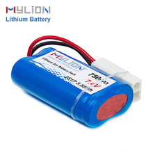 outside lights batteries energy storage 7.4V li-ion battery pack 750mah